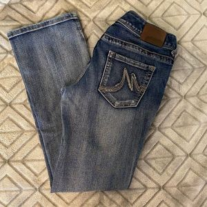 Maurice's straight cut jeans